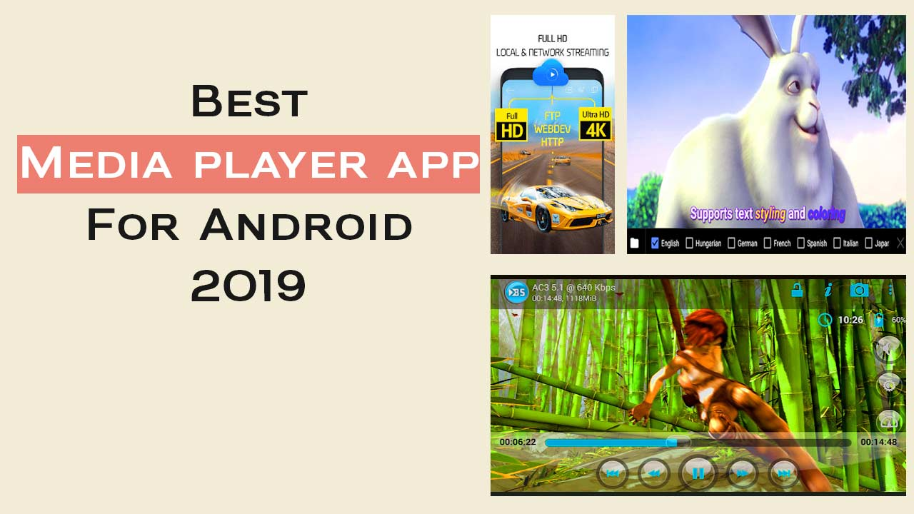 Top] Best Android Media Player App for 2019 #Review
