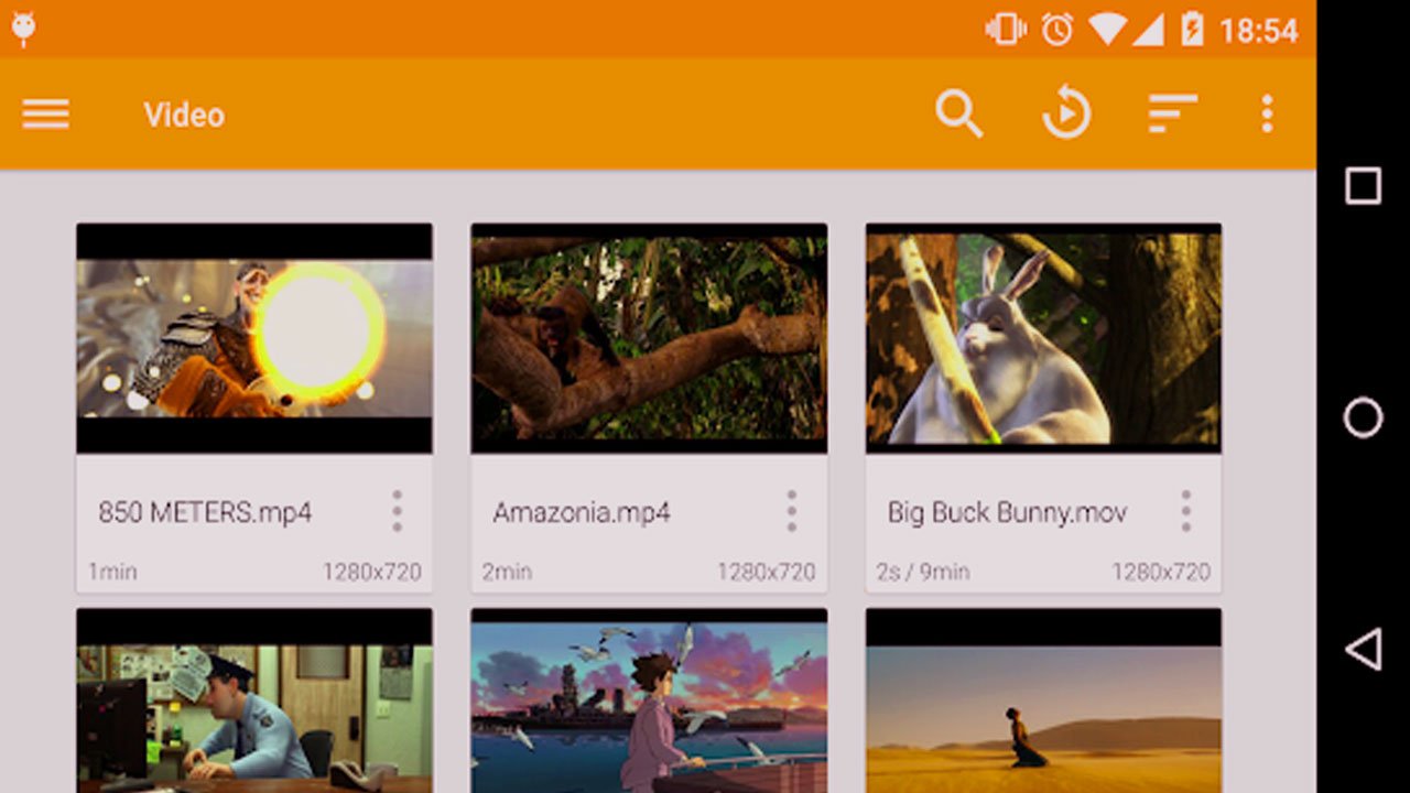best hd video player for android