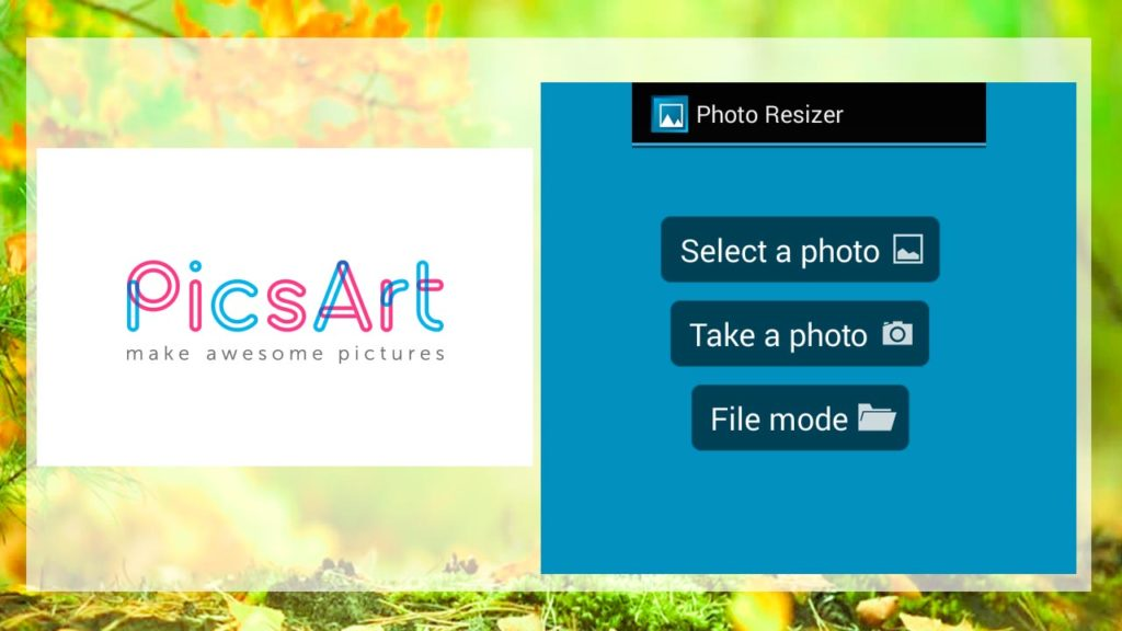 app to resize photos android