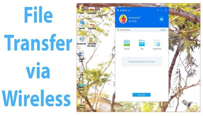 How To Transfer Files From Android Phone To Pc Wirelessly