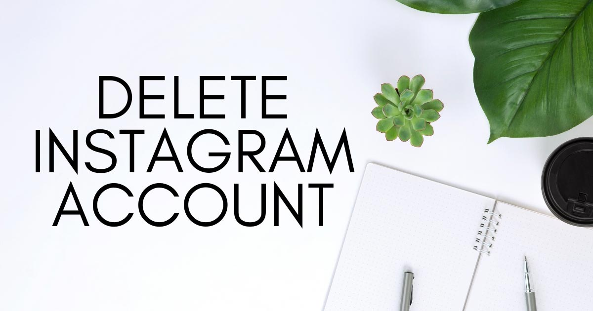 How To Delete Instagram Account On Android Phone Step By Step